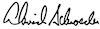 David Schroeder's signature