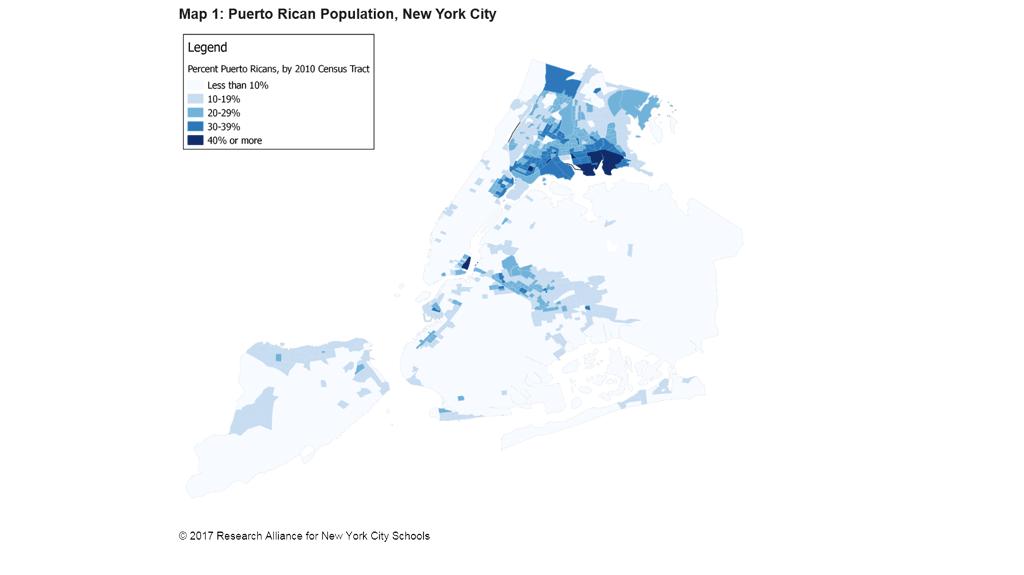 Puerto Rican Population NYC