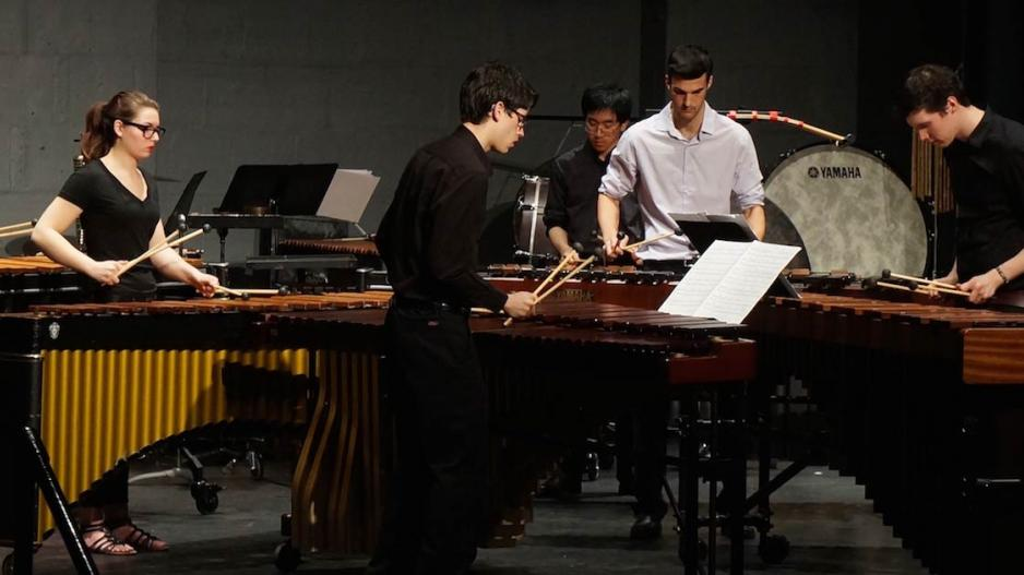 NYU Percussion Chamber Ensemble Performance