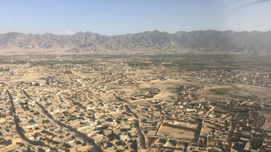 Picture of a village in Afghanistan