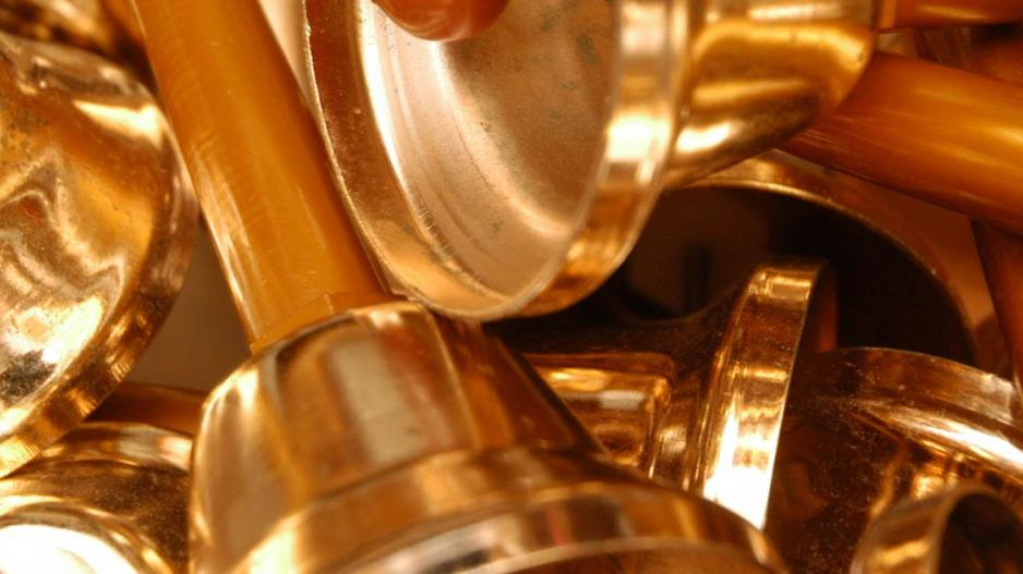 photo of brass bells