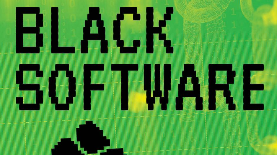 book cover of Black Software