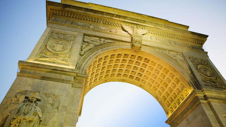 NYU Washington Square Arch photo