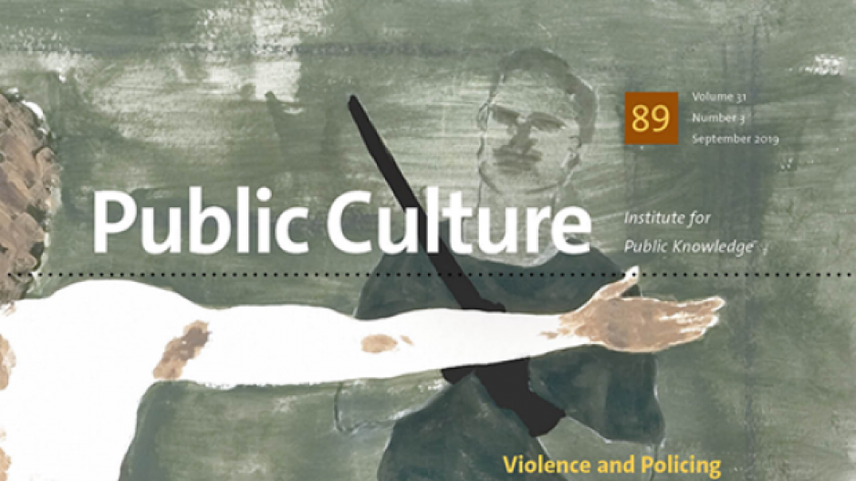 Front cover of Public Culture journal