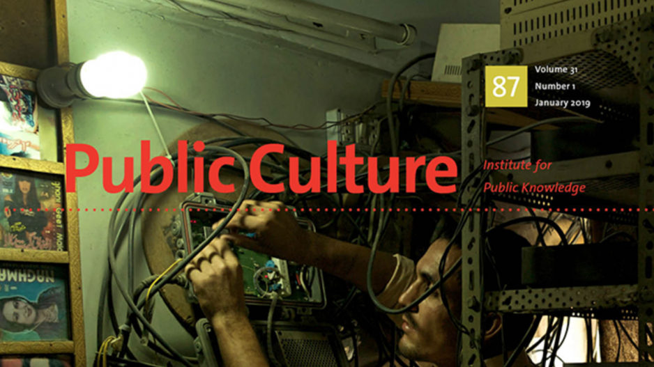 Public Culture Recent Issue