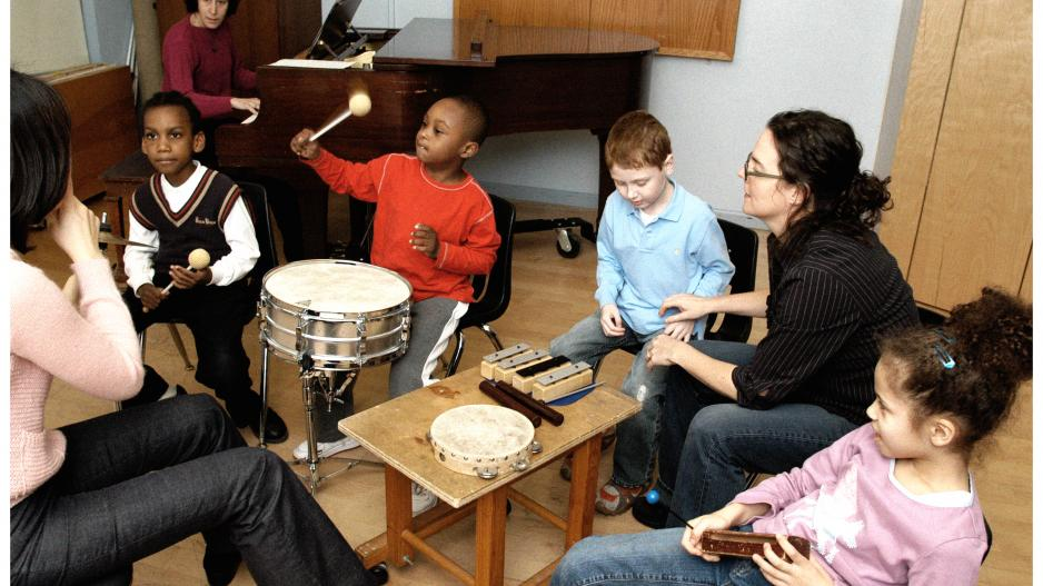 Group at Nordoff-Robbins Center for Music Therapy