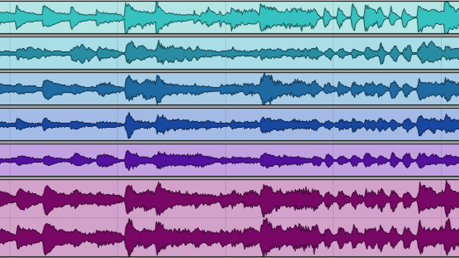 Waveforms from the MedleyDB