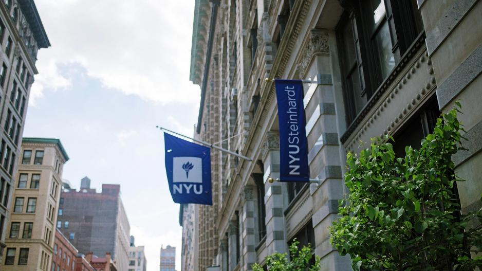 NYU Steinhardt building in New York City