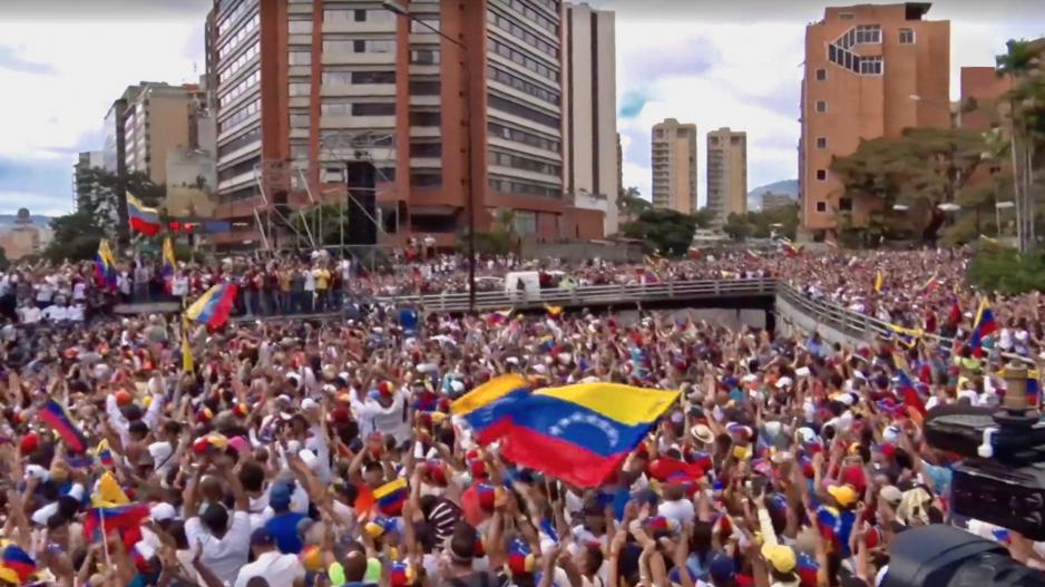 Venezuelan protests on the streets