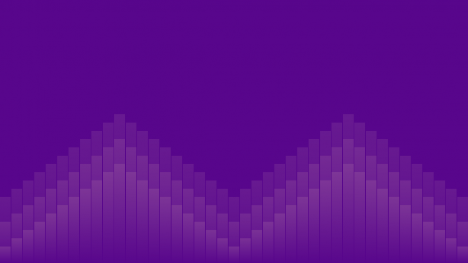 Purple Background with Shapes