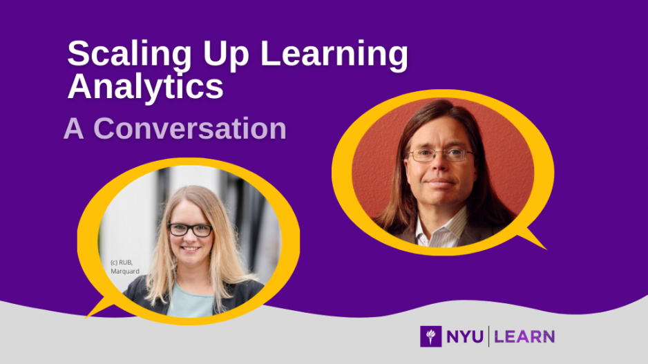 Scaling Up Learning Analytics: A Conversation with Maren Scheffel and John Whitmer