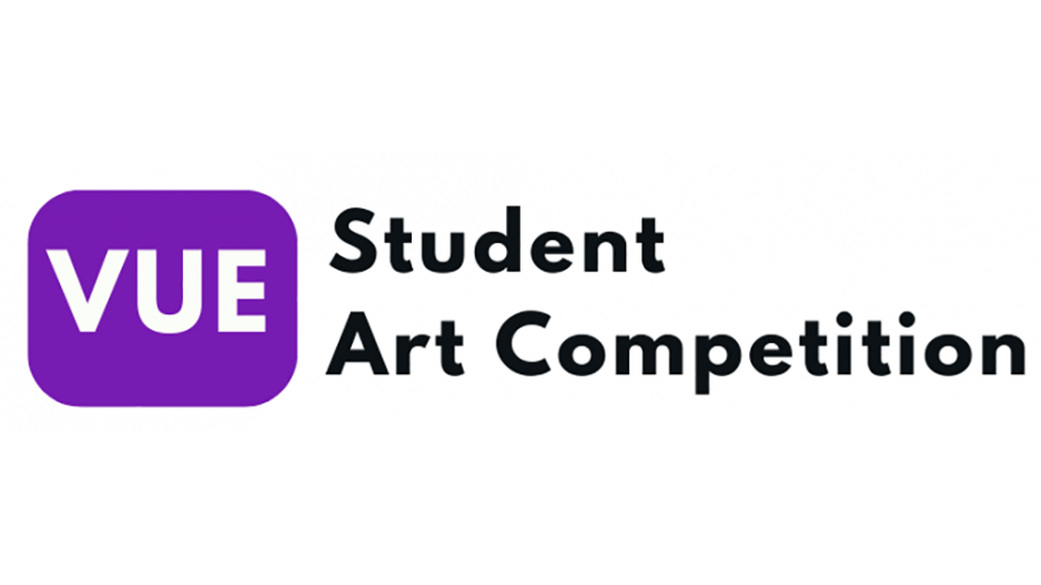 Vue student art competition header