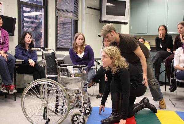 Occupational Therapy students attend a class lecture