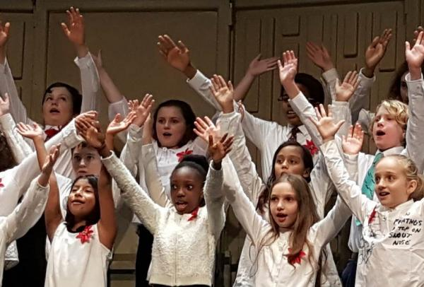 NYU's Childrens Chorus Performance
