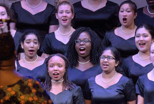 NYU Women's Choir Performance